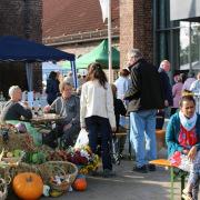 Gut besucht und ein voller Erfolg war auch in diesem Jahr wieder der Bauernmarkt.