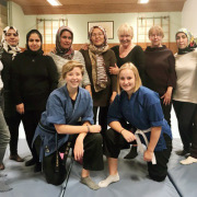 Beim Selbstverteidigungskurs für Frauen in der Gesamtschule, organisiert von Birgit Mescher von der Stadt Fröndenberg und dem Patenkreis, lernten die Teilnehmerinnen die richtige Vorgehens- und Verhaltensweise im Ernstfall. Eine Fortsetzung ist in Planung